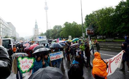 Marche contre Monsanto - Berlin 25 mai 2013