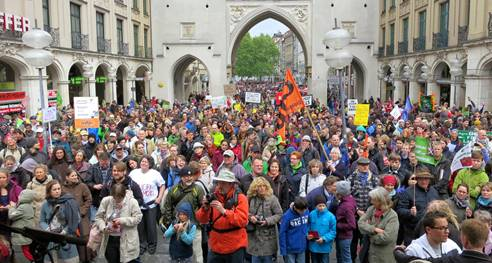 Marche contre Monsanto - Munich 25 mai 2013