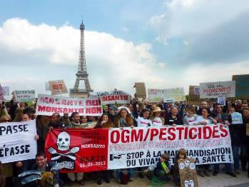 Marche contre Monsanto - Paris 25 mai 2013