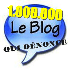 Un million de visiteurs blog